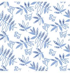Tender floral motif vector