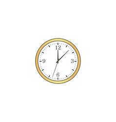Time computer symbol vector