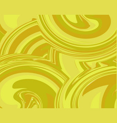 yellow liquid marble background vector image