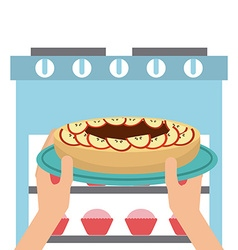 homemade delights vector image vector image
