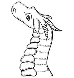 Dragon baby vector image