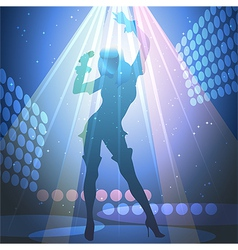 Live show vector image