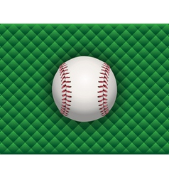 baseball checkered background vector image