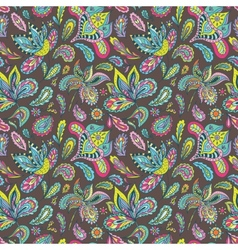 Summer Indiam Pattern vector image