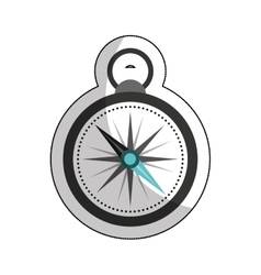 compass travel device icon vector image