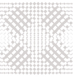 geometric checkered seamless pattern white and vector image