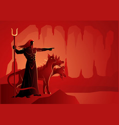 greek gods and goddess hades vector image