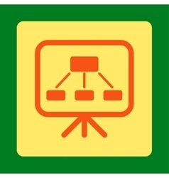 Scheme Screen Icon vector