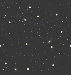 seamless pattern star design for christmas vector image