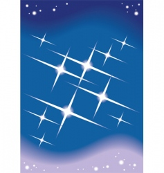 starlight background vector image vector image