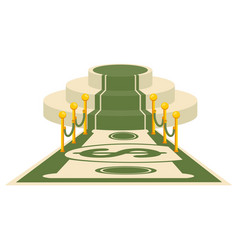 money award carpet vector image