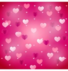 heartsbackground2 01 vector image vector image