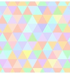 Seamless retro pattern of geometric shapes Pastel vector image vector image
