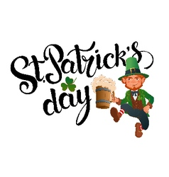 StPatricks Day vector image vector image