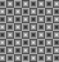 square seamless geometric pattern vector image vector image