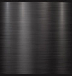 Black metal technology background vector
