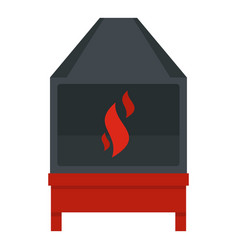 Blacksmith icon isolated vector