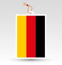 Germany tag vector