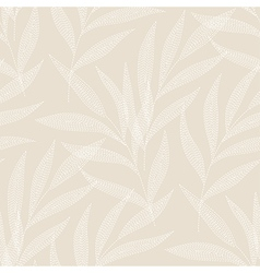 needlework tropic beige vector image