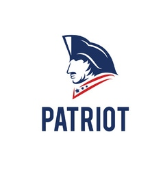 patriot design template vector image