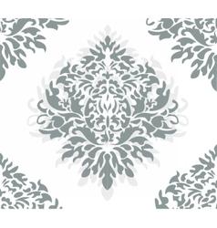 Vintage Damask Pattern ornament vector image