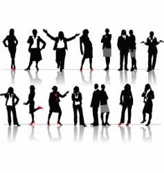 Businesswomen vector