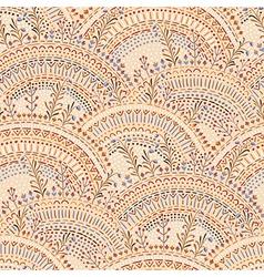 roosters pattern empty beige vector image vector image