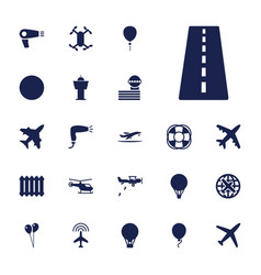 22 air icons vector
