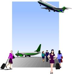 6207 airport vector