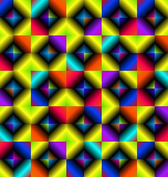Background of multicolored lozenges vector