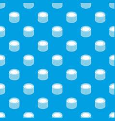 Building roll net pattern seamless blue vector