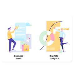 Business rule big data analytics application vector