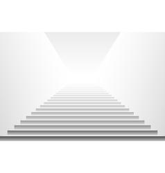 Stairs isolated on white background Steps vector