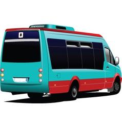 Van carrier vector image