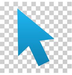mouse cursor gradient icon vector image