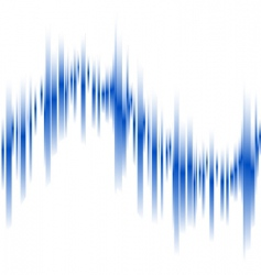 Abstract blue lines in perspective vector