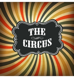 circus background retro vector image