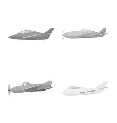 design aviation and airline logo vector image