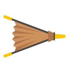 fire bellows icon isolated vector image