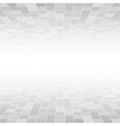 Grey Mosaic Tile Square Background Perspective vector