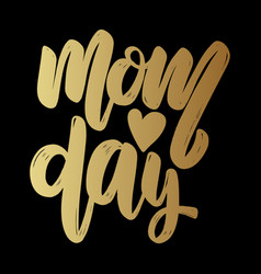 mom day text lettering phrase for poster greeting vector image