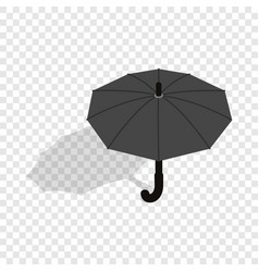 umbrella isometric icon vector image