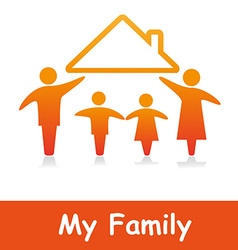 MyFamily vector image vector image