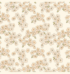 apple-flower-background-9 vector image