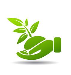 environmental protection vector image