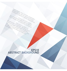 abstract diamond shaped pattern background vector image vector image