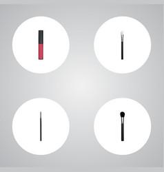 realistic liquid lipstick contour style kit vector image vector image