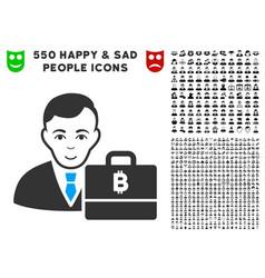 Baht accounter icon with bonus vector