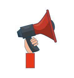 Bullhorn advertising symbol vector