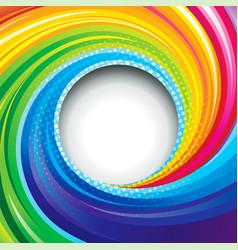 Colorful swirl vector